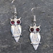 E27 Owl earrings